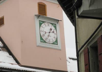 Horloge à Epesses